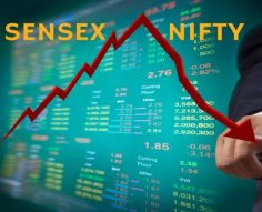 Market Live: Sensex tanks 400 pts; all sectoral indices in the red barring metals