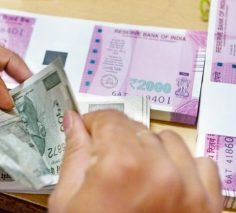 Rupee, bond prices fall as crude oil hits 3-year high