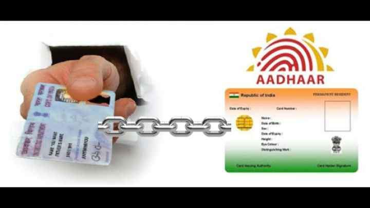 Link PAN card with Aadhaar