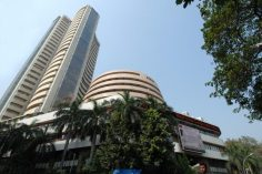 Sensex, Nifty gain steadily Bharti, Infosys, HUL drag