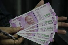Rupee strengthens against US dollar ahead of key macro data