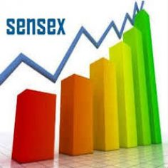 Sensex surges 200 pts; BJP concedes defeat in Delhi