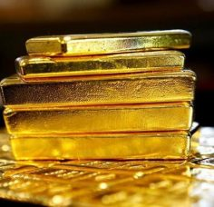 Global gold prices steady amid expectations for further US rate hikes
