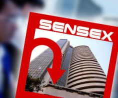 Sensex near 2-month lows, drops 162 pts