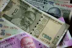 Rupee trades at 3-month high against US dollar after exit polls