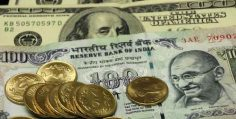 Rupee firms up 17 paise against dollar to 66.67