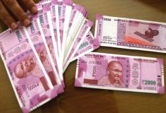 Rupee spurts 26 paise against US dollar