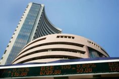 Nifty slips below 10,000 mark, Sensex sheds 110 points, pharma stocks fall