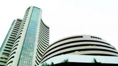 Sensex slides 98 points as government readies Economic Survey