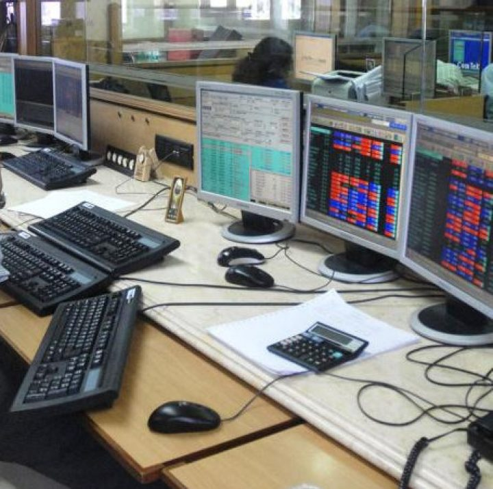 Sensex tests 33,000 in opening, Nifty trades flat; Bharti Infra dips