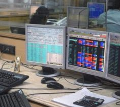 MARKETS LIVE: Nifty hovers around 10K, Sensex trades lower; pharma drags