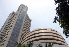 MARKET LIVE: Sensex, Nifty trading in red; Axis Bank stock rises over 5% on likely fund infusion from Bain Capital